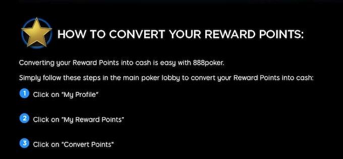 888 Rewards Convert