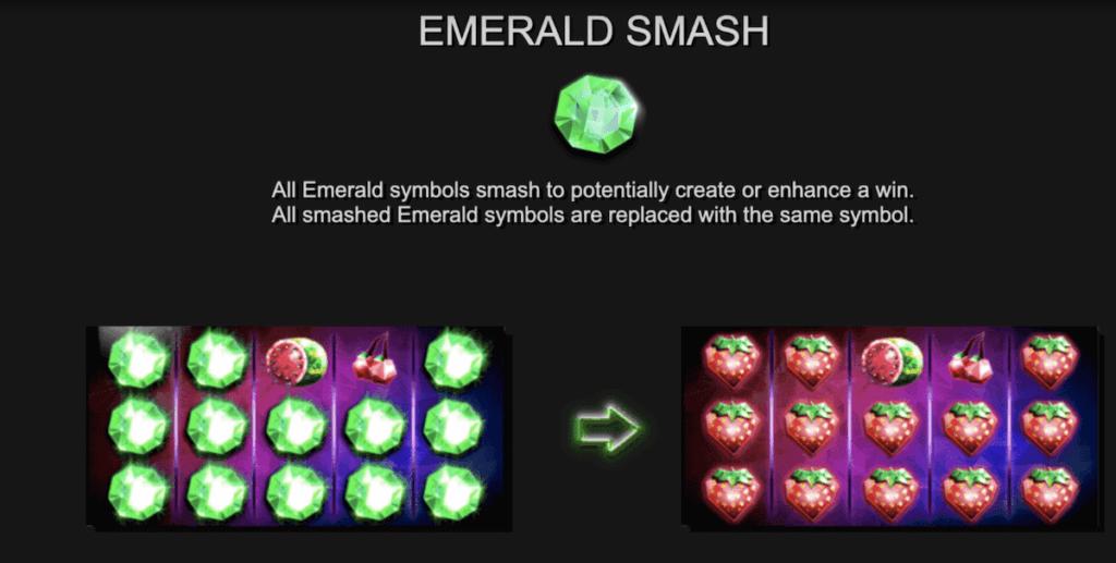 Emerald Smash feature