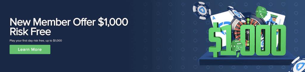 $1,000 risk-free bonus at FanDuel!