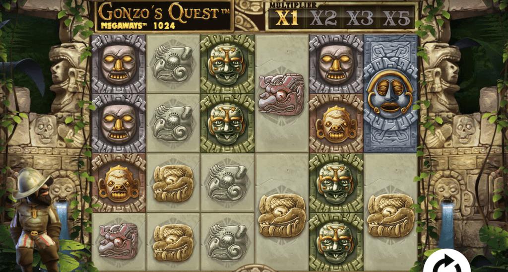 Gonzo's Quest Megaways Gameplay