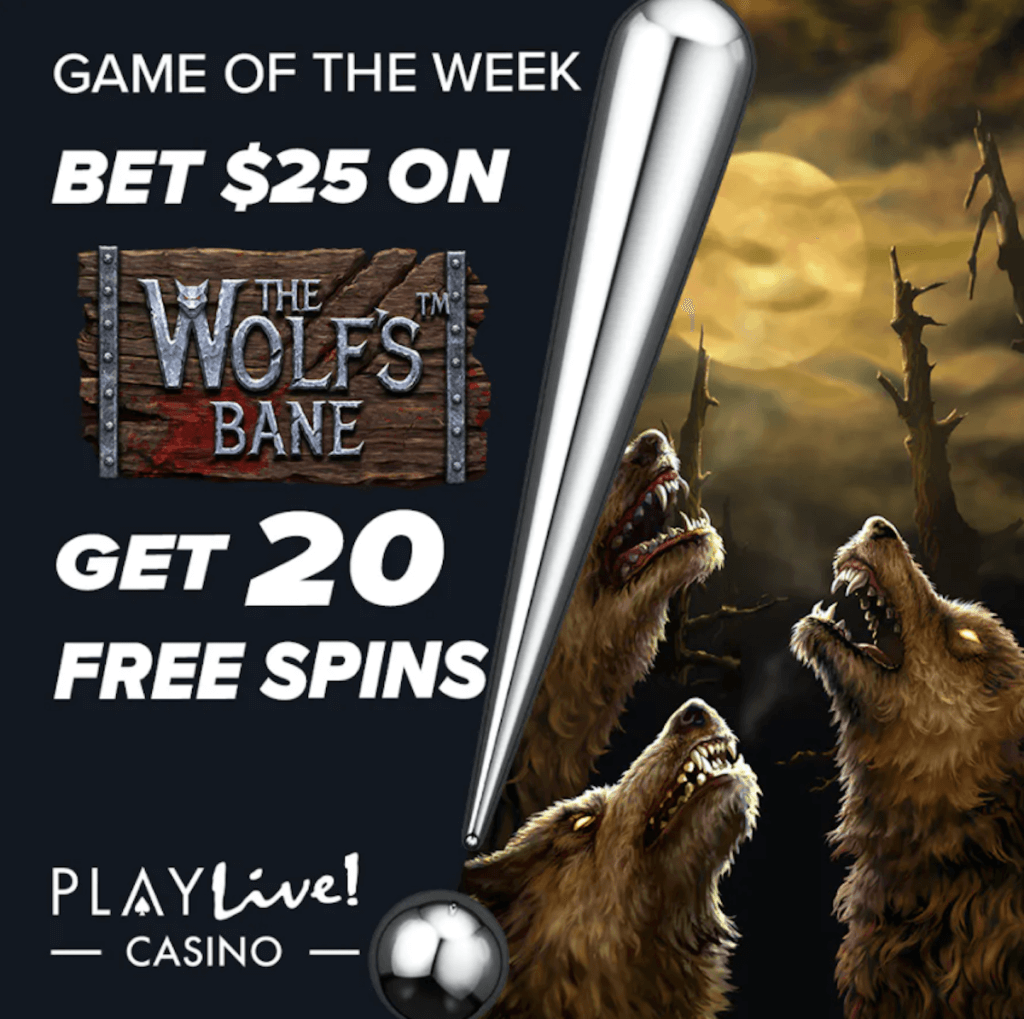 PlayLive!'s Game of the Week promo