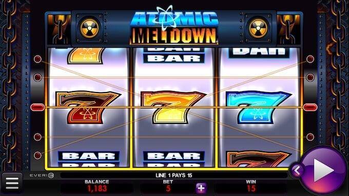 Atomic Meltdown Online Slot