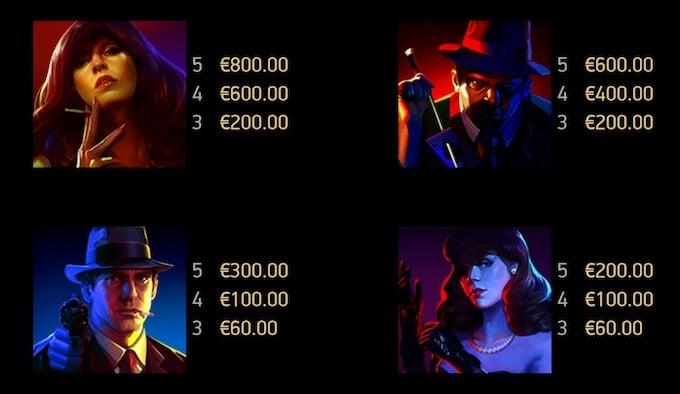 Cash Noire Symbols