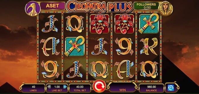 Cleopatra Plus game
