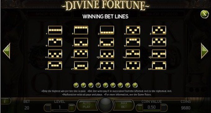 Divine Fortune Pay 1