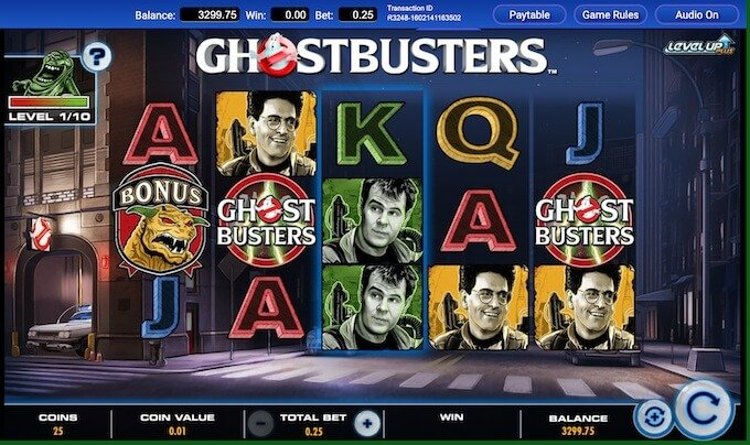 Ghostbusters Plus Slot Game