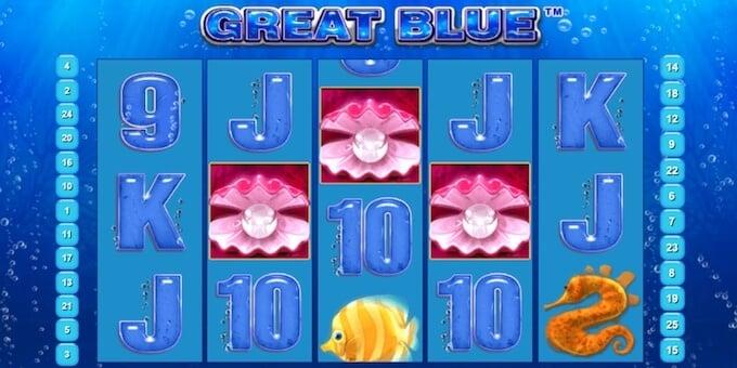 Great Blue Online Slot Bonus Round