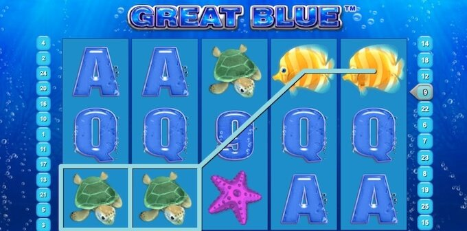 Great Blue Online Slot Game