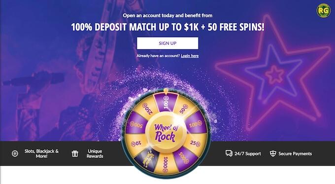 Hard Rock Casino Bonus