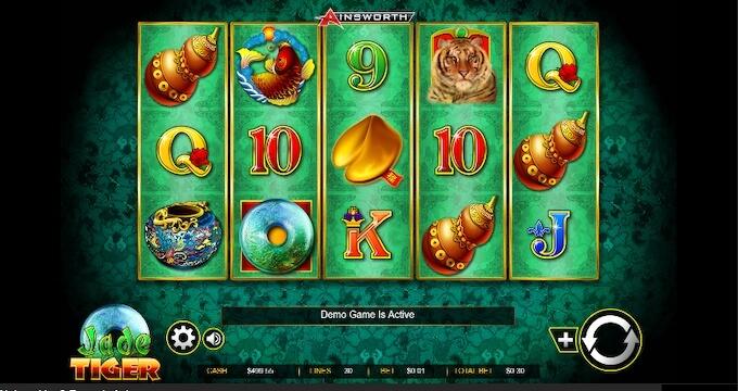 Jade Tiger Slot Features