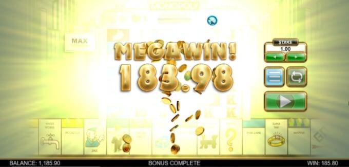 Monopoly Megaways Online Slot Win