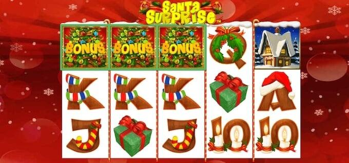 Santa Surprise Slot Features