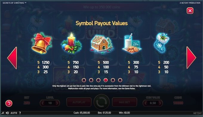 Secrets of Christmas Slot Symbols