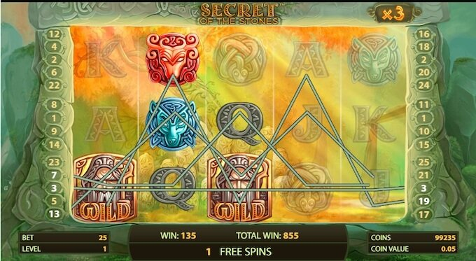 Secret of the Stones Online Slot Game