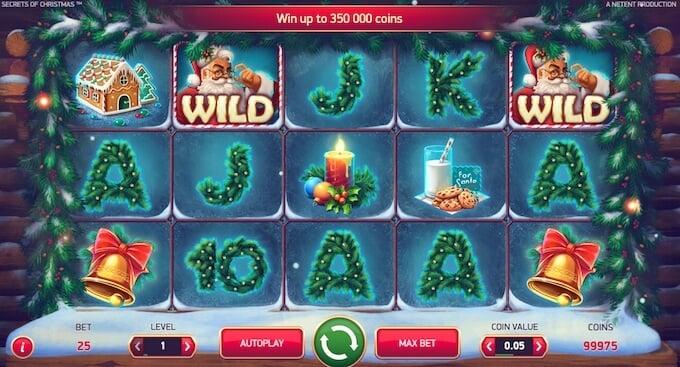 Secrets of Christmas Slot Design