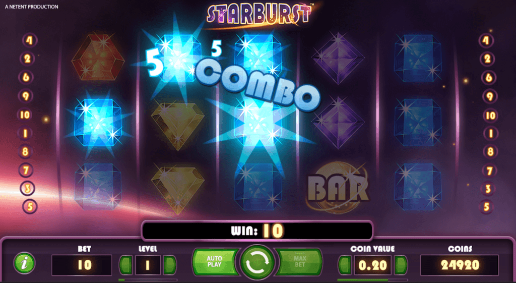 starburst online slot partycasino