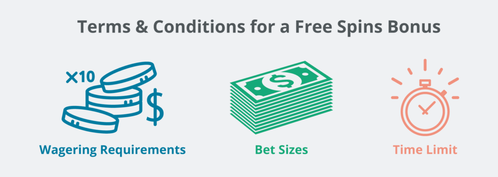 terms and conditions for free spins